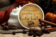 Pumpkin Spice Body Butter, 4 oz Vegan. Organic Ingredients. Cruelty Free.