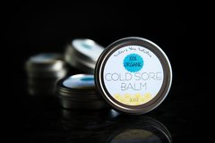 All Natural Cold Sore Balm, 2 oz. Organic Ingredients. Vegan. Cruelty Free.