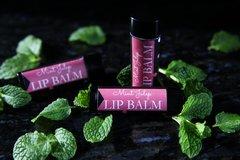 Organic Mint Julep Vegan Lip Balm, standard tube .15 oz