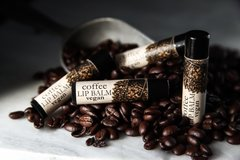 Organic Vegan Coffee Lip Balm .15 oz