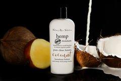 Organic Coconut Hemp Lotion, Vegan. 4.75 oz