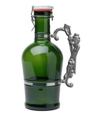#611 Lamplighter Handle Green Glass