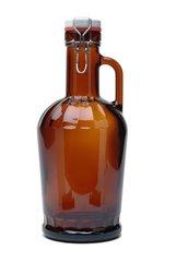 #800 Amber 2-Liter NOVUM with Glass Handle