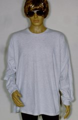 Gildan 2400 Ultra Cotton Adult Long Sleeve T-Shirt 6.1 oz, 100% Cotton Preshrunk.