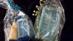 Handcrafted Soap: Mini Tardis and Dalek