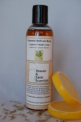 Botanical Lemon Facial Cleanser, Organic