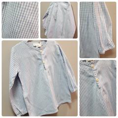 Serendipity Clear Blue Shirt Size:3