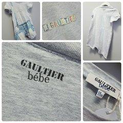 Junior Gaultier Raged Jeans Romper Size:18M