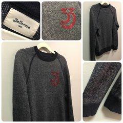 Bellerose Blue Sweater Top Size:8