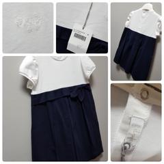 Il Gufo Blue Bell Dress Size:2