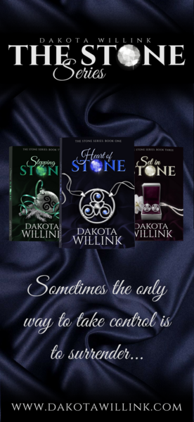 The Stone Series Trilogy Rack Card