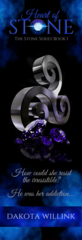Heart of Stone Bookmark with Triskelion