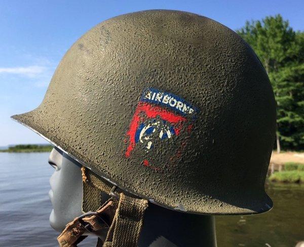 Decal 82nd Airborne M1 Helmet Amp Liner 325 Abn Korea 1951