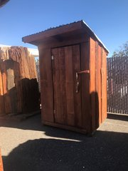 Square Outhouse