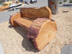 Fred Flinstone Pine Bench