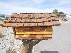 Cedar/Pine Mailbox On Stand