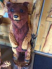 """Standing Bear 48""""x15"""""""