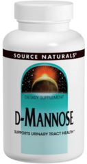 """D-Mannose"" 500 mg (60 caps) by Source Naturals $16.99"
