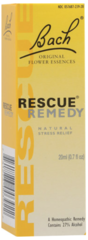 """Rescue Remedy"" Natural Stress Relief (0.7 fl oz) by Bach Flower Essence $15.99"