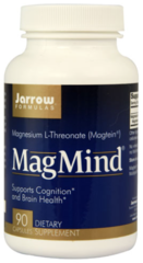 """MagMind"" - Magtein for Brain Health (90 Capsules) by Jarrow Formulas $28.99"
