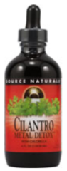 """Cilantro Metal Detox""™ With Chlorella (4 fl oz) by Source Naturals $17.49"