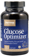 """Glucose Optimizer"" (120 Tabs) by Jarrow Formulas $22.99"