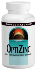 """Zinc"" - OptiZinc 30 mg (120 tabs) by Source Naturals $8.05"