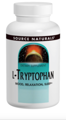 """L-Tryptophan"" 500mg (60 Capsules) by Source Naturals $15.75"