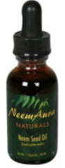 Neem Seed Topical Oil Organic (1fl oz) by Neem Aura $7.99