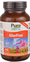 """AllerFree"" Enzymes for Allergies (60 caps) by Pure Essence $16.99"