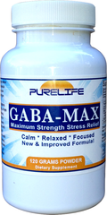 """Gabatrol to the Max"" Stress & Anxiety 60 grams Powder $30.99"
