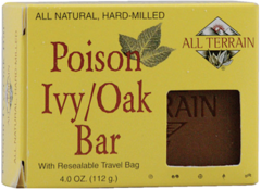 Poison Ivy Oak Bar Soap by All Terrain (4 oz bar) $6.25