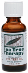 """Tea Tree Oil"" 100% Pure (1 fl oz) by Tea Tree Therapy $8.99"