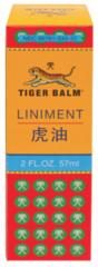 "TIGER BALM PAIN RELIEVING ""LINIMENT"" (2 fl oz) $8.99"