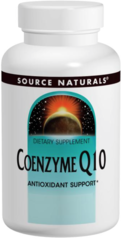 "Co-Q10 - ""COENZYME Q10"" Ubiquinone 200mg (30+30 free = 60 softgels) by Source Naturals $19.98"