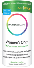 """Women's One Multivitamin/Mineral"" 150 tabs by Rainbow Light $31.99"