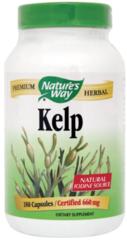 """""""Kelp"""" Nutritional Seaweed (180 Capsules) by Nature's Way $8.99"""