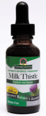 """""""Milk Thistle"""" Extract - Alcohol Free - 2000mg (1 fl oz) by Nature's Answer $9.99"""