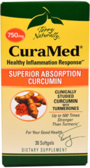 CuraMed Curcumin 750 mg (30 Softgels) by Terry Naturally $28.99