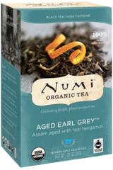 "Organic Black Tea ""Aged Earl Grey"" (18 Tea Bags) by Numi $5.99"