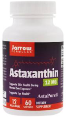 """Astaxanthin"" 12 mg (60 Softgels) by Jarrow Formulas $32.99"