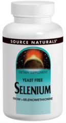 """""""Selenium"""" Yeast Free L-Seleomethionine Powerful Antioxidant Mineral 200 mcg (60 tabs) $5.99"""