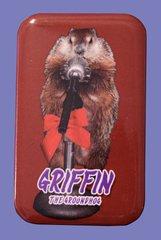 "Griffin ""The MC"" Button Magnet"