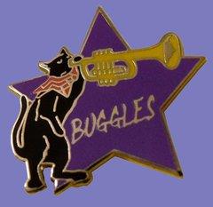 Boogie-Woogie Buggles Enamel Pin