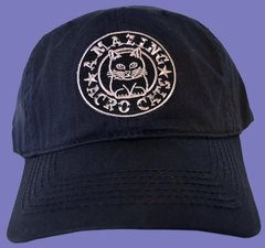 Dad-style Baseball Cap with Purple or Gray logo