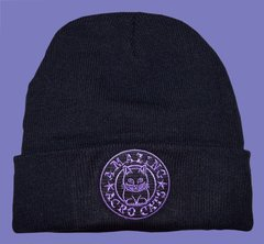 Deluxe Size Acro-Beanie with Purple or Gray Logo