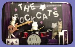 The RockCats Button/Magnet