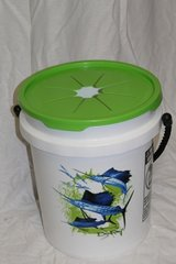 LitterBin Don Ray/Sailfish/Green Lid (base not included)