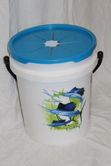 LitterBin Don Ray/Sailfish/Blue Lid (base not included)