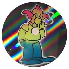 Smoking Krusty mirror vinyl